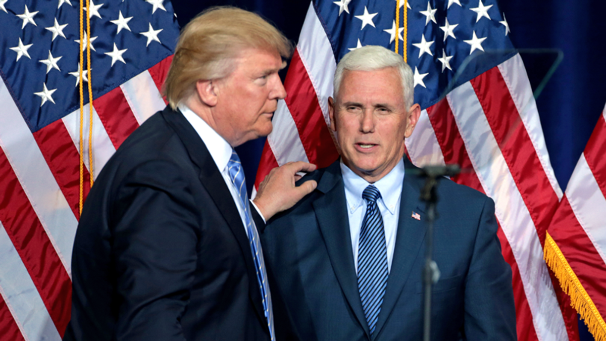 Pence camp thinks Trump 'set up the VP to take the fall' — endangering his life in the process: CNN