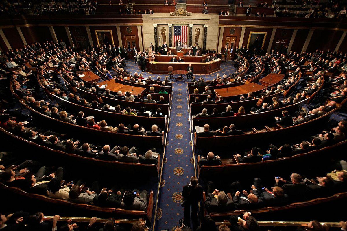 Congress Reconvenes to Certify Joe Biden's Win
