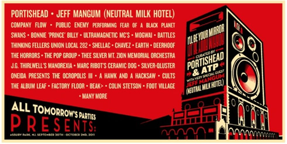 Portishead/Jeff Mangum-Headlined I'll Be Your Mirror Festival Gets Even Awesomer