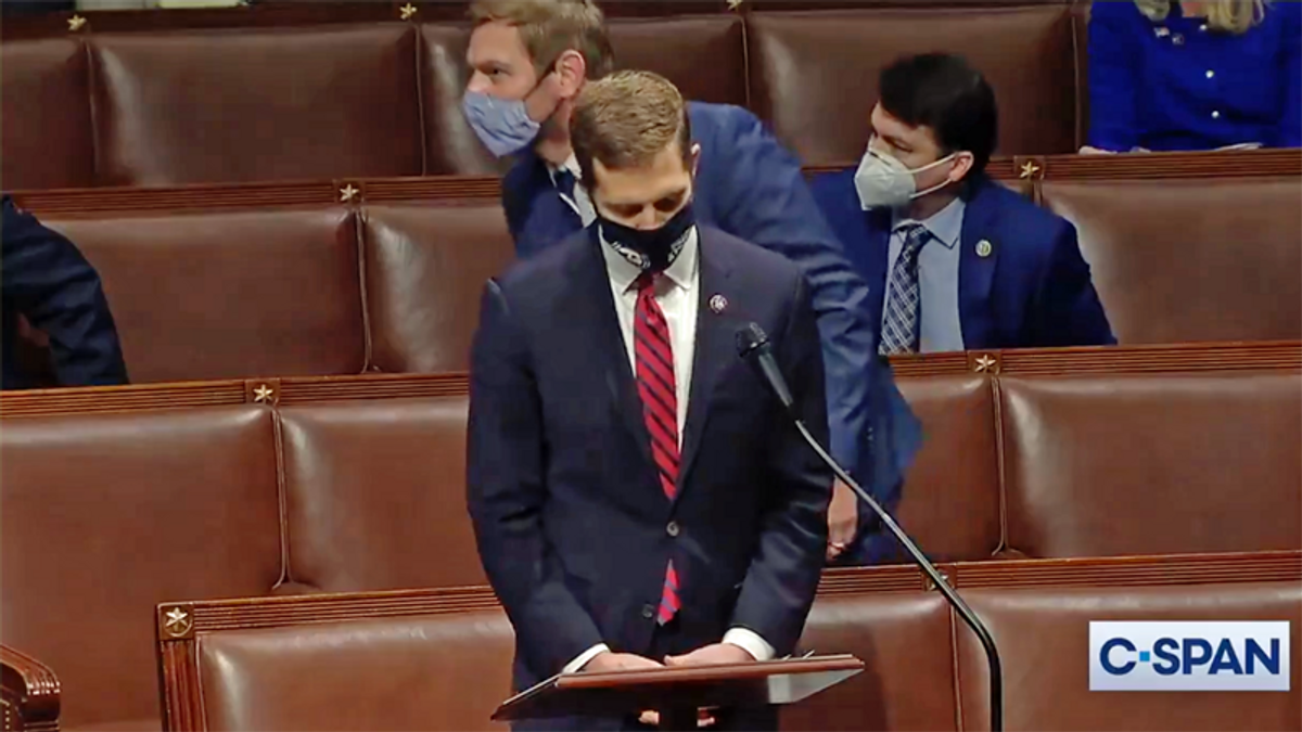 WATCH: Bench clearing brawl almost erupts in Congress — including ex-NFL linebacker