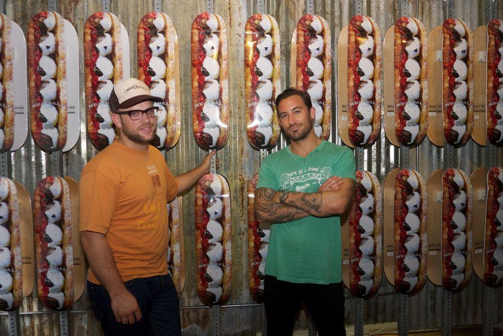 'Ball of Fame: The Meatball Shop's Mike Chernow Talks Skateboard Collab