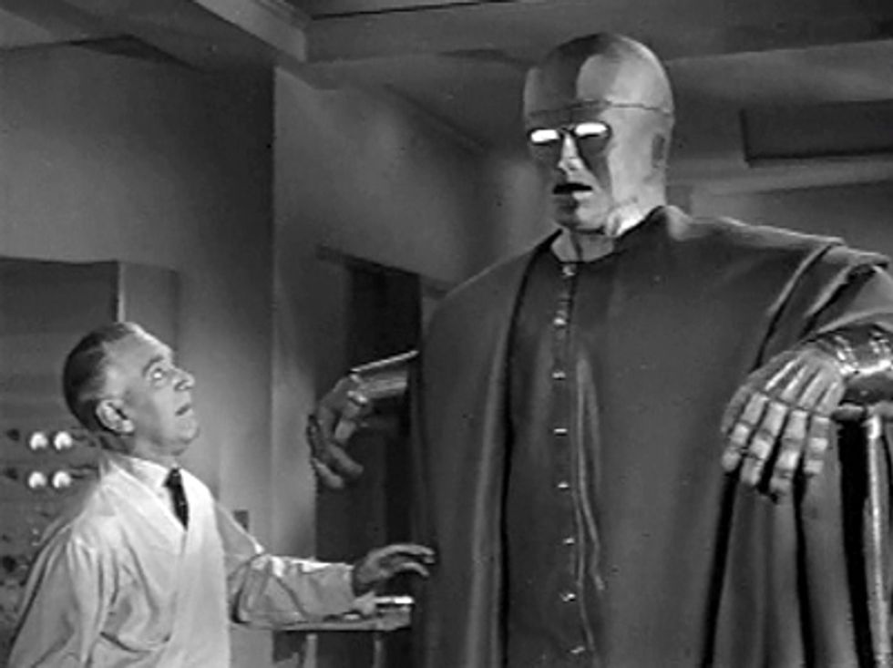 Rare '50s Sci-Fi Film The Colossus Of New York On DVD