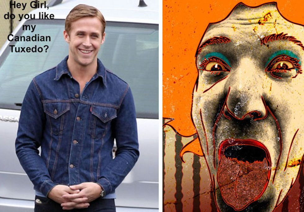 Eight Items Or Less: Ryan Gosling Breaks Up a Fight + David Yow at Fuse Gallery