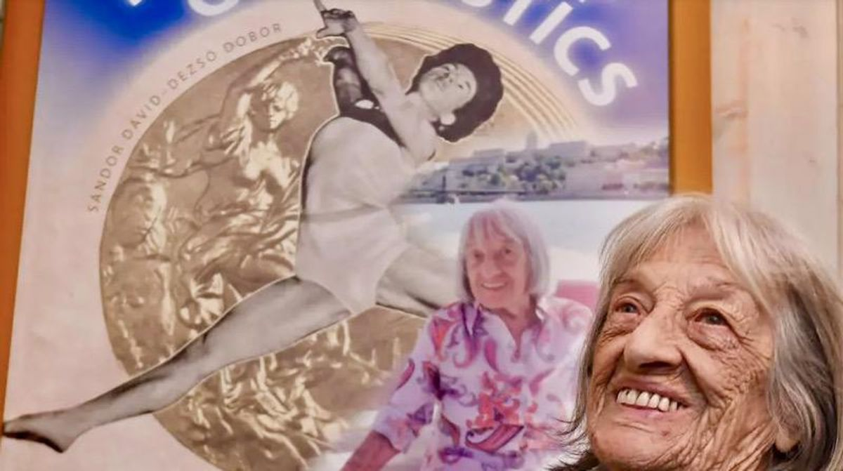 Oldest living Olympic champion Agnes Keleti to turn 100