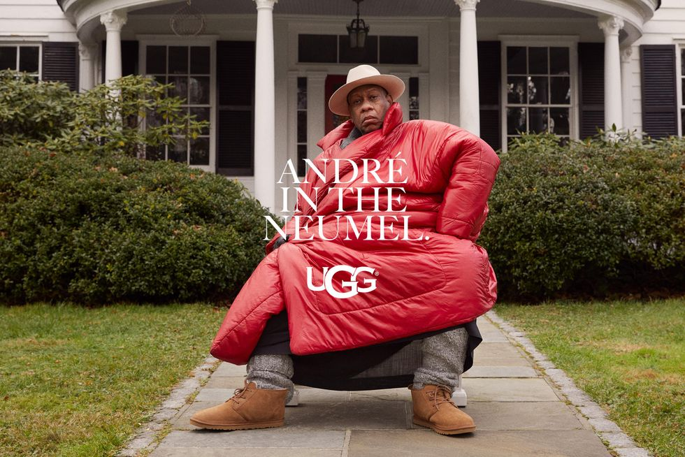 Fashion King André Leon Talley Is the New Face of Ugg