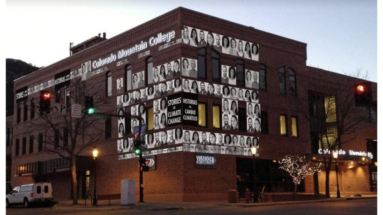 Colorado Mural Project Hopes to Shift Climate Beliefs