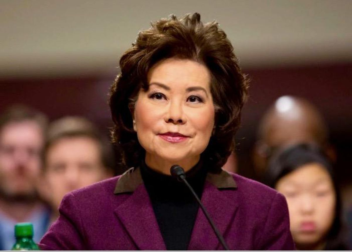 Secretary Chao quits in protest – rather than stay to support 25th Amendment removal: Read full letter