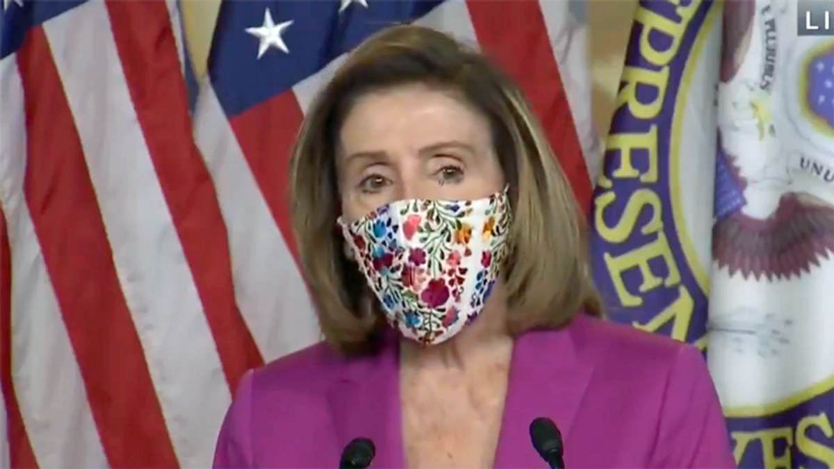 Nancy Pelosi demands Trump's removal from office for inciting 'armed insurrection against America'