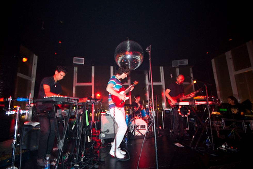 Saved by the Cowbell: The Rapture at Le Bain