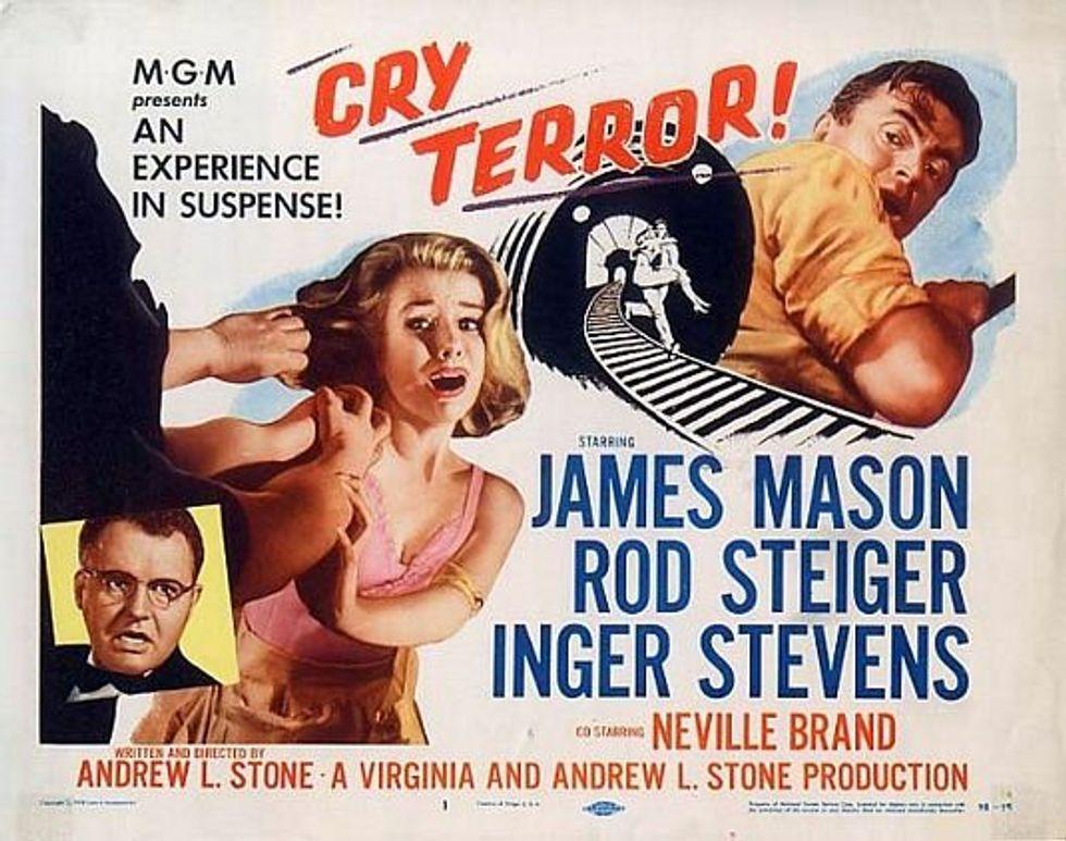 Julie & Cry Terror On Warner Archive DVD-On-Demand