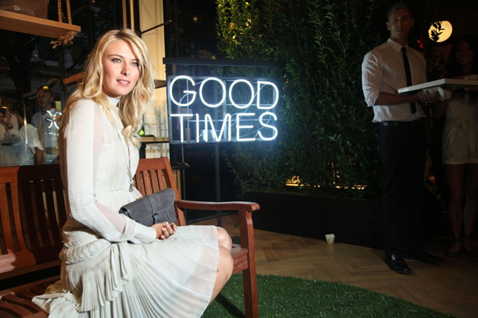Good Times: Scenes from the Maria Sharapova X Cole Haan Launch Party