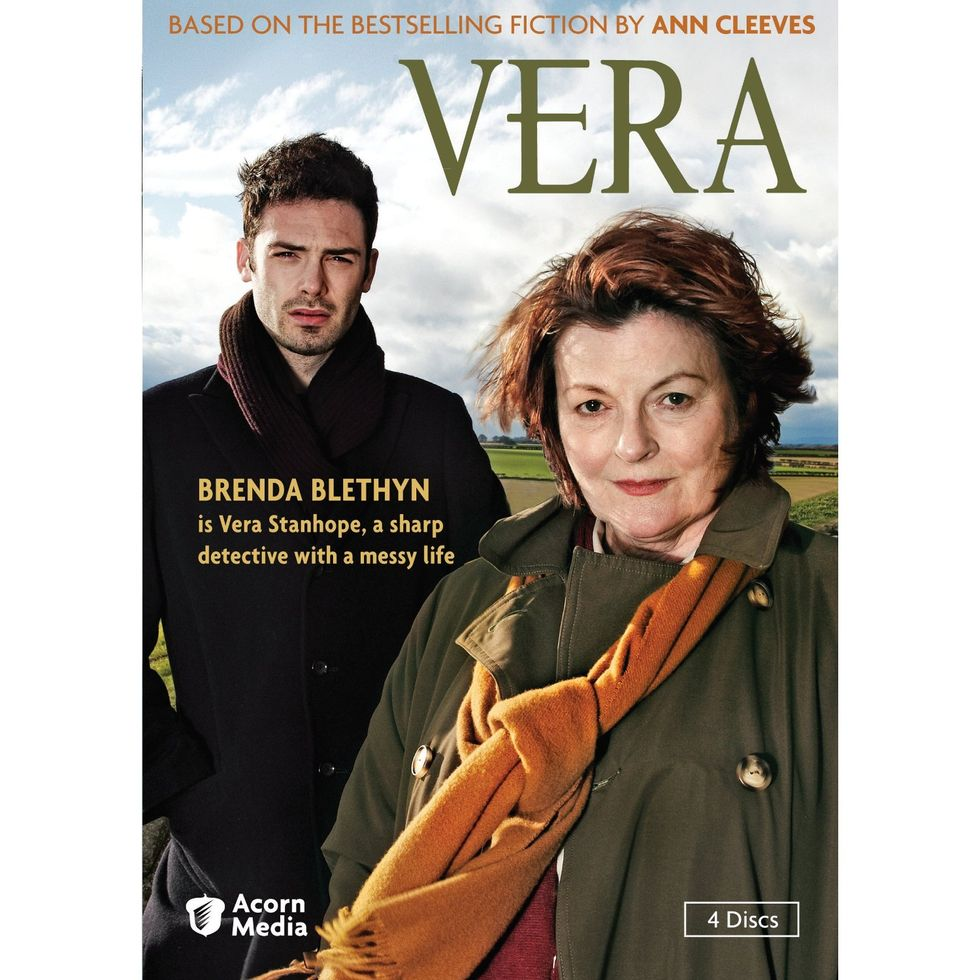 Vera, a Fabulous British TV Mystery Series, Now On DVD
