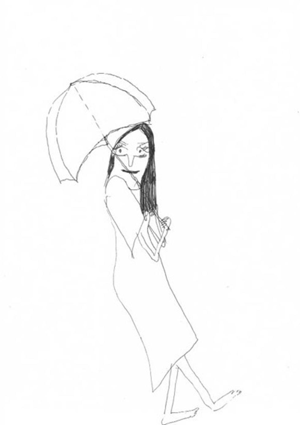 Alissa McKendrick's Ladies With Umbrellas