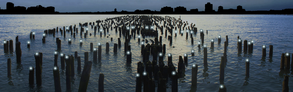 """Lighten Up! """"Reflecting the Stars"""" Opens at Pier 49"""