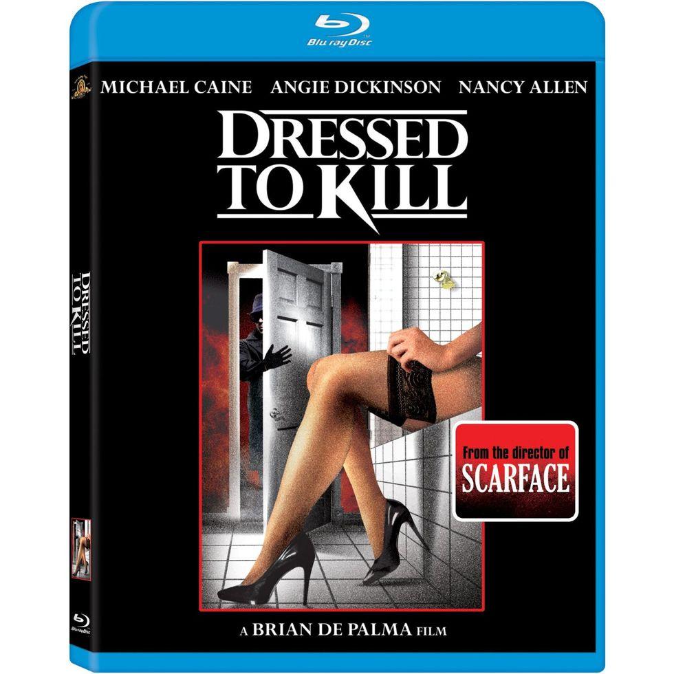Suspense Classic Dressed To Kill On Blu-ray