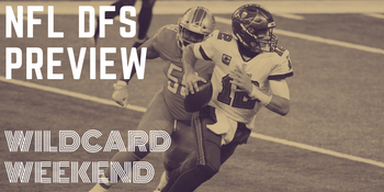 NFL DFS Preview: Wildcard Weekend image