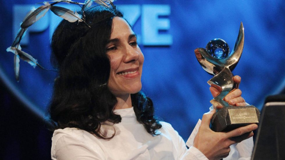 Eight Items or Less: PJ Harvey Wins the Mercury Prize + The Stooges Postpone Their Concerts
