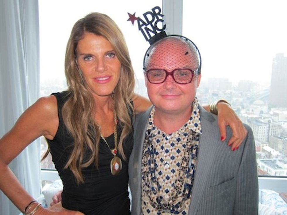 """I Don't Have a Rain Look."" Anna Dello Russo On Her Over-the-Top Style and Collaboration with Macy's"
