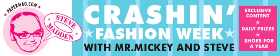 Mr. Mickey Stops By Steve Madden HQ, Chic Hilarity Ensues.