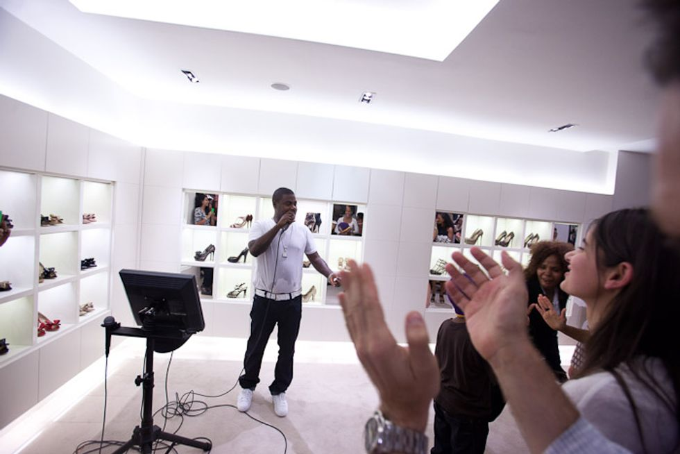 Valentino's Fever Dream FNO Party with Tracy Morgan and Candice Bergen