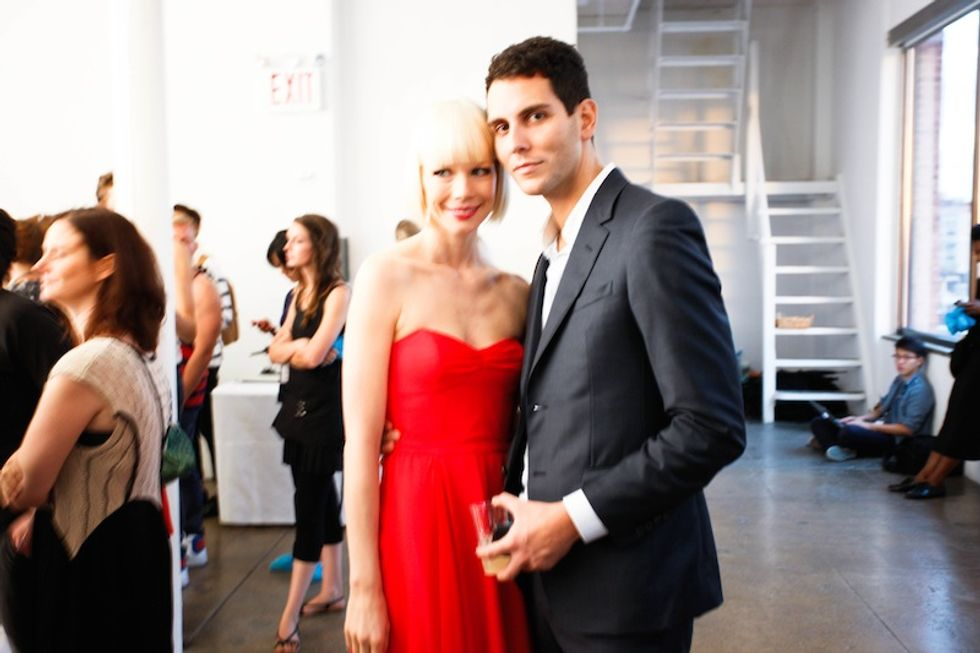 Chatting With Fashion Week's Cutest Couple Erin Fetherston and Gabe Saporta