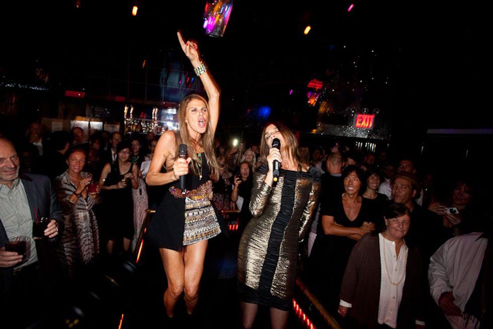 It's Carine's World. We All Just Do Karaoke In It.