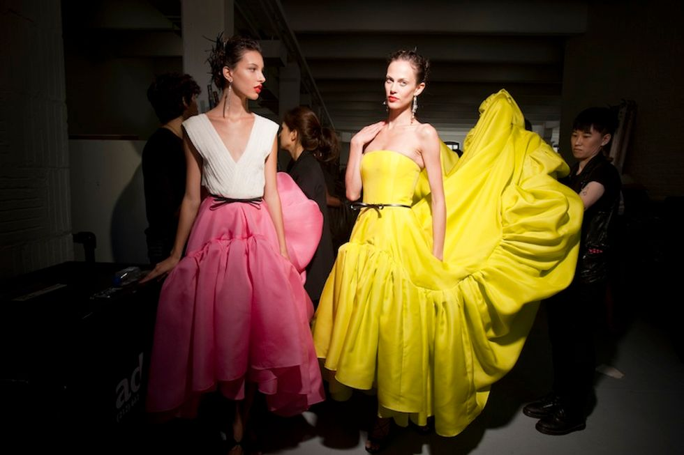 True Colors: Backstage at Jason Wu's S/S '12 Show