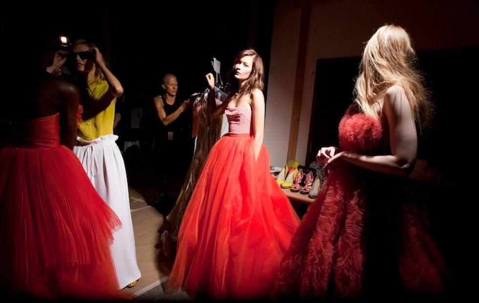Summer Fun: Christian Siriano's Big, Bright S/S '12 Collection