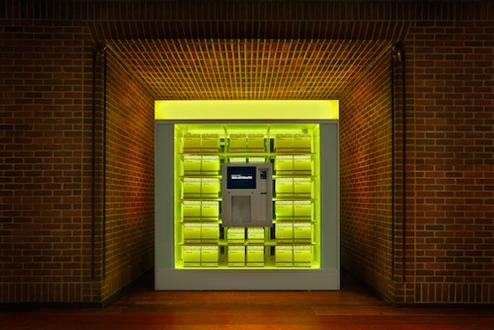 The Hudson Hotel Opens a Luxe Gift Shop in Vending Machine Form for Fashion Week