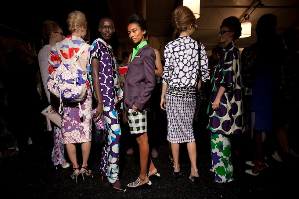 Flower Power at Diane Von Furstenberg