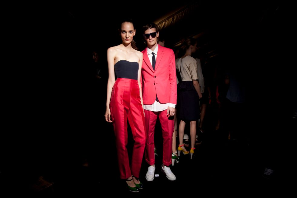 In Living Color : Marc by Marc Jacobs' Bold S/S '12 Collection