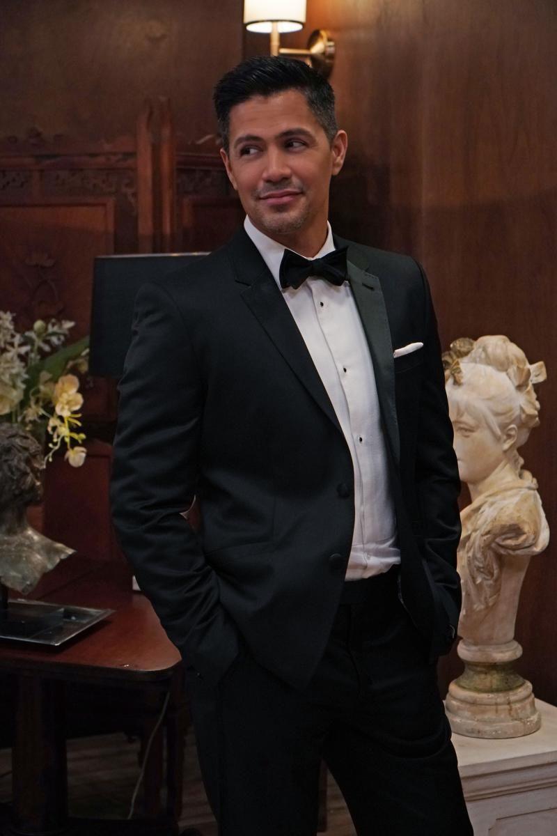 Thomas Magnum in a tuxedo
