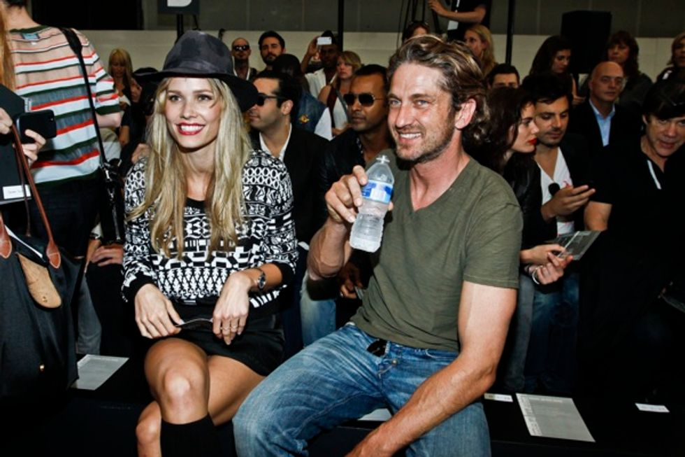 Front Row Report: Oh Land, Common and a Blond Gerard Butler at the Diesel Black Gold Show