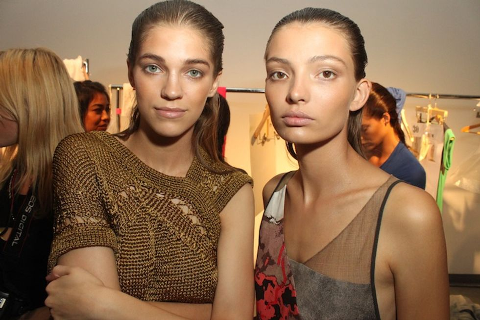On Shaky Ground: Backstage at VPL's S/S '12 Collection