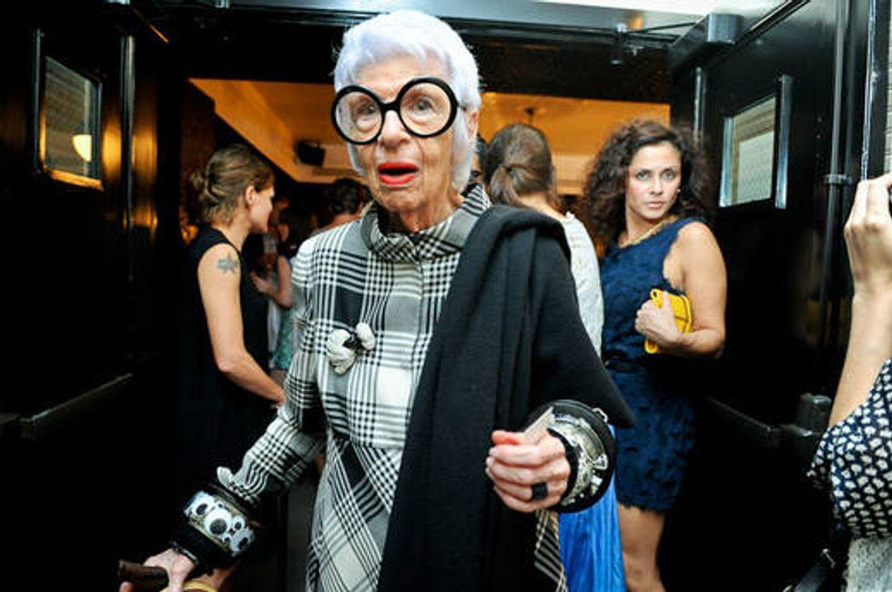 Tavi, Iris Apfel and Some Of New York's Chicest Women Toast New York Fashion Week