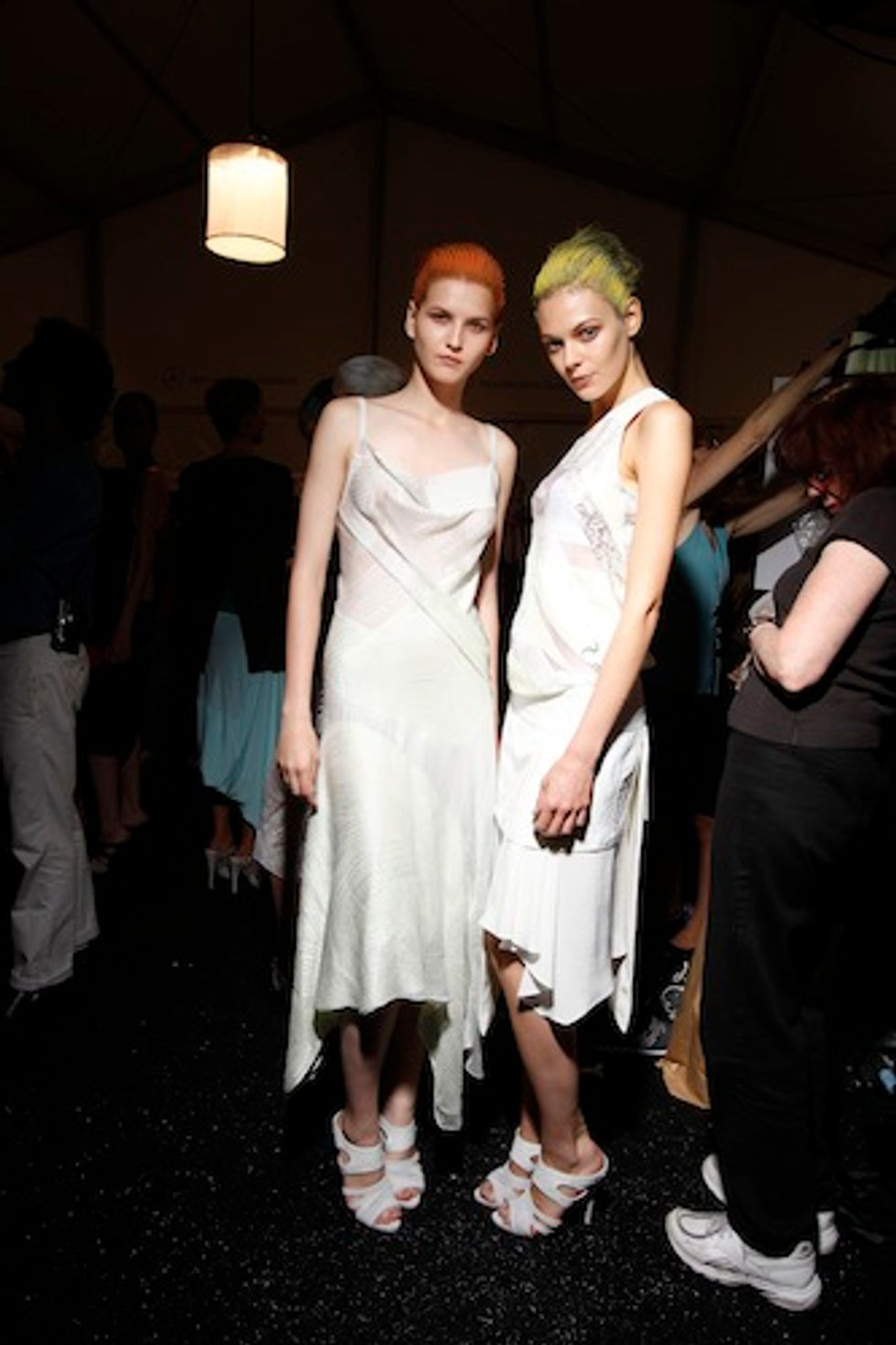 Un-Paralleled Elegance: Narciso Rodriguez S/S '12