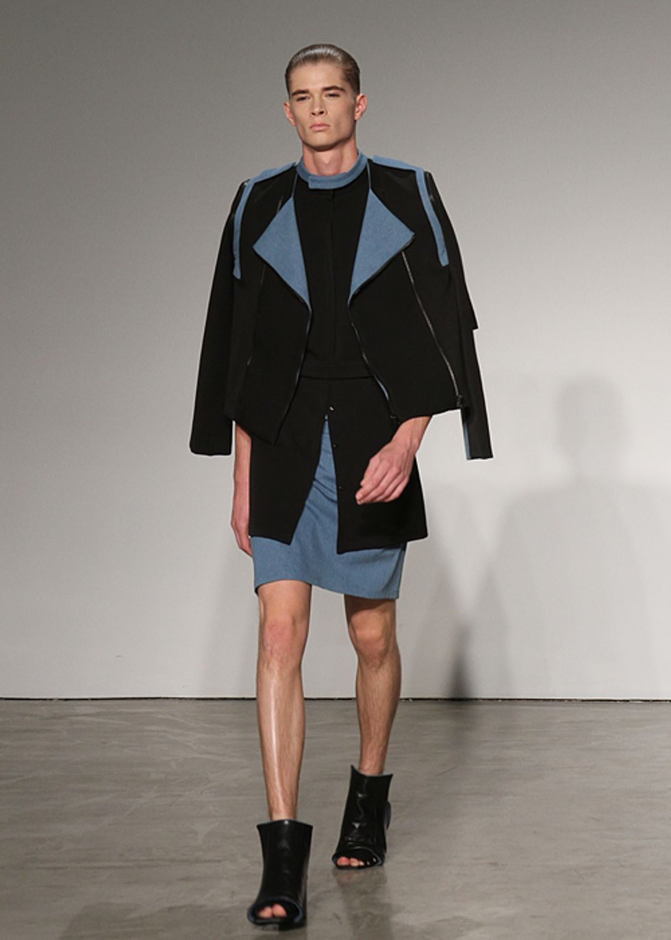 Getting A Little Color: Rad By Rad Hourani S/S '12