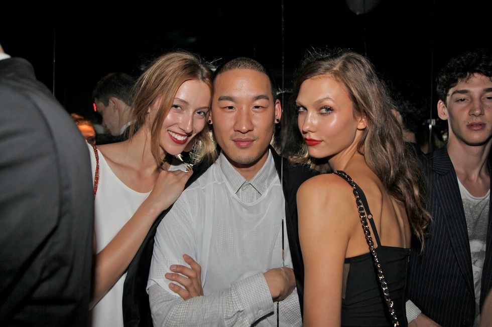 Black, White and V All Over: Scenes from the V Magazine NYFW Party