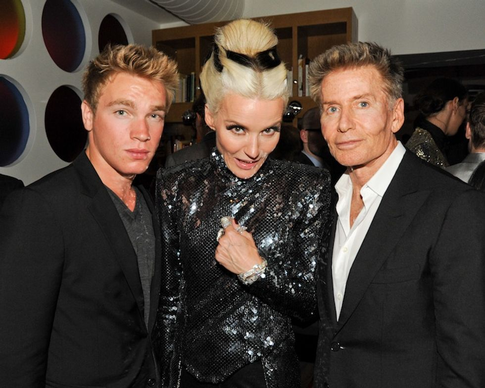 Chatting with Calvin Klein, Valentino and More at Daphne Guinness' FIT Museum Opening