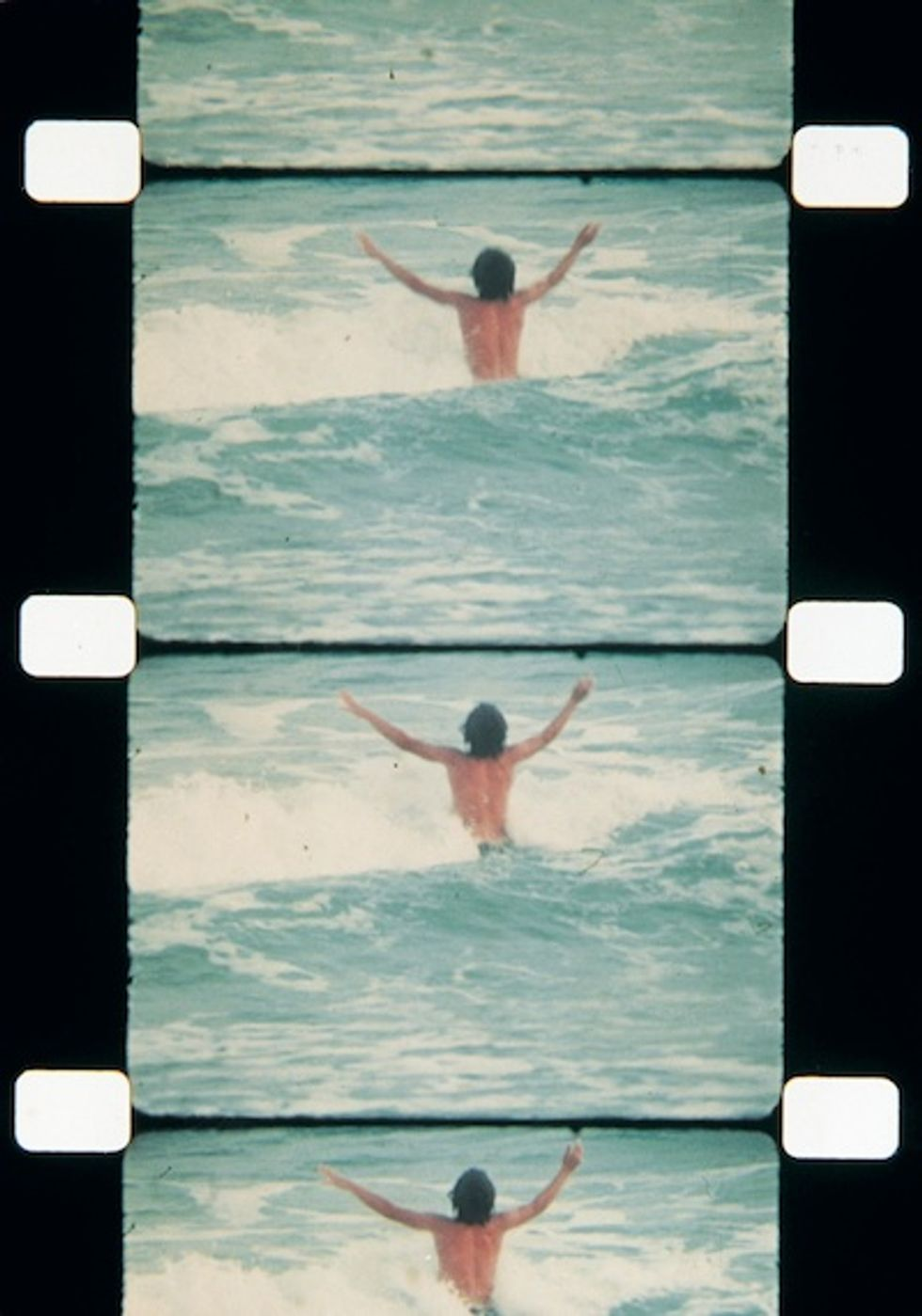 """JFK Jr. on the Beach: A Preview of Jonas Mekas's """"This Side of Paradise"""" Exhibit at agnes b's Galerie Boutique"""