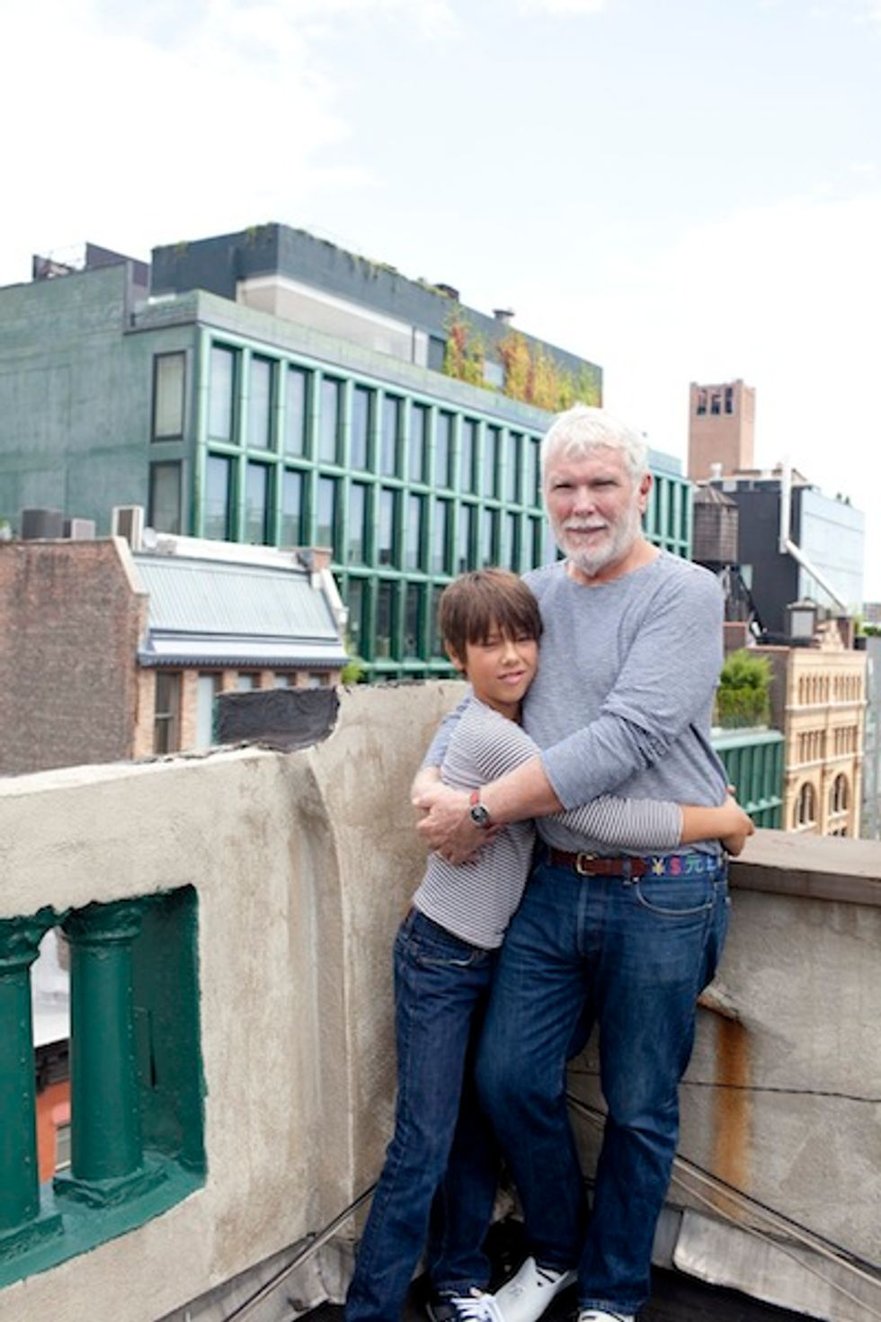 More with Glenn O'Brien and His 11-Year-Old Son Oscar