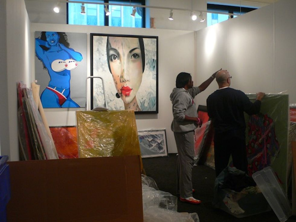 Affordable Art Fair Starts Today!