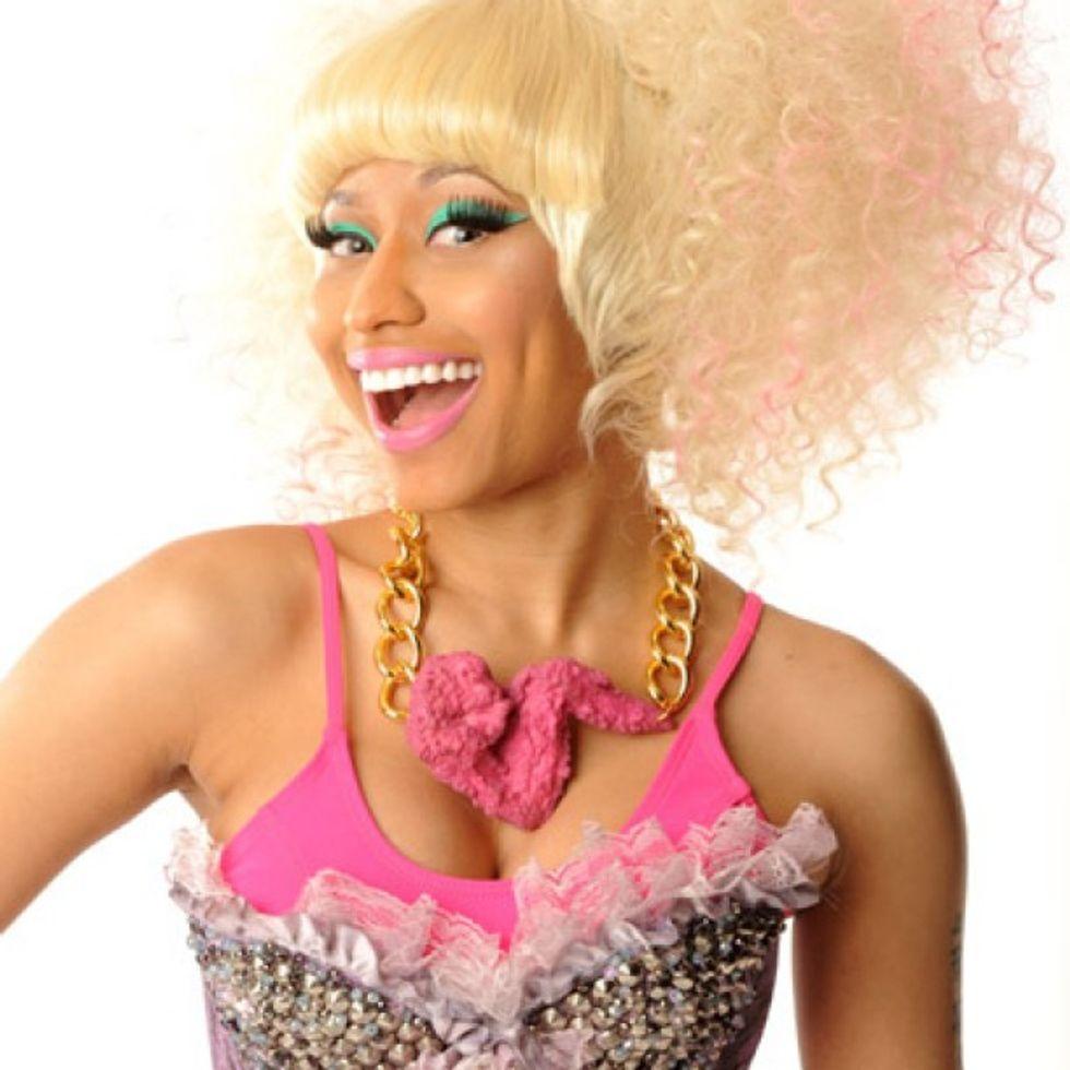 "Eight Items or Less: Nicki Minaj's Chicken Necklace + Tomorrow is ""Slick Rick Day"""