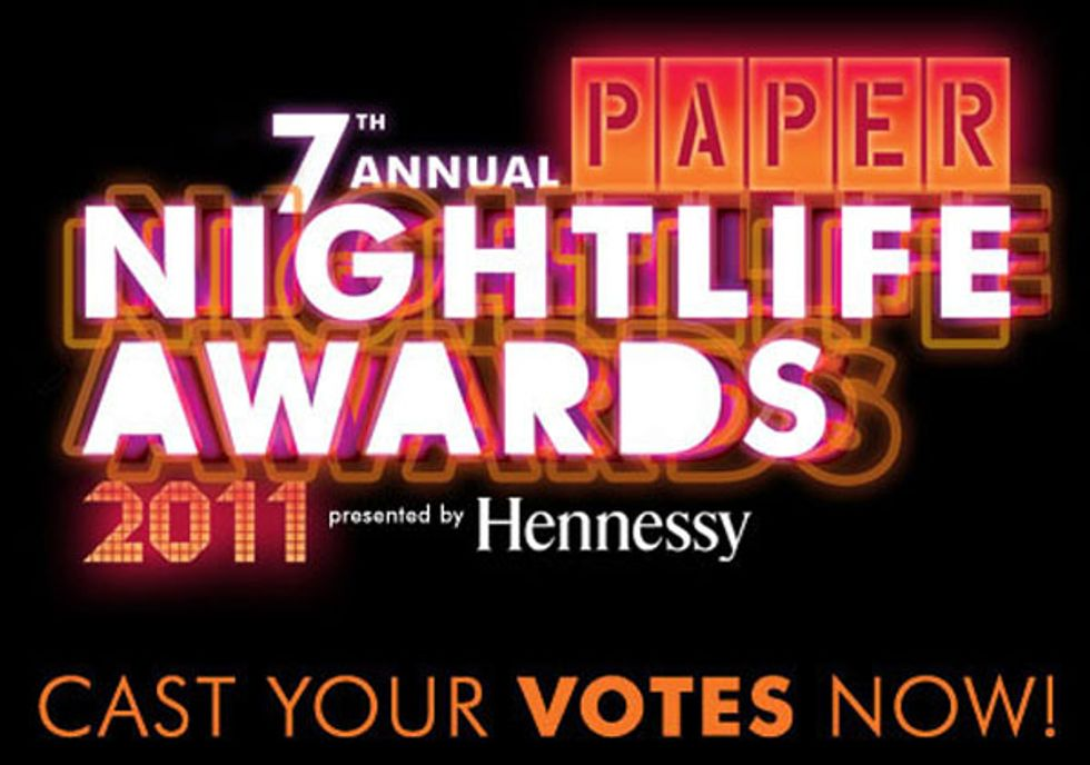 The 7th Annual PAPER Nightlife Awards Nominees!