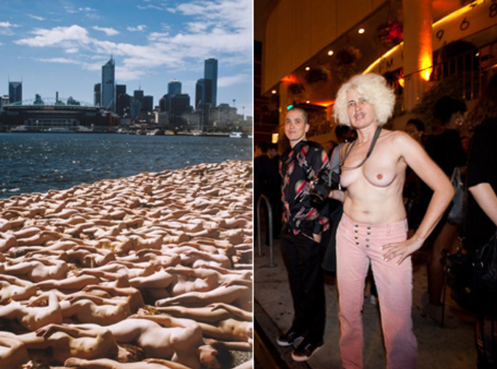 Eight Items or Less: Nude Vacations and Nude Paparazzi