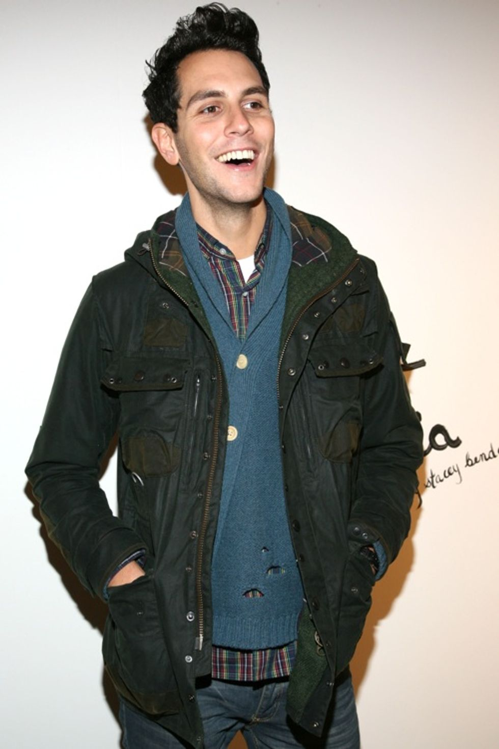 Gabe Saporta, the Only Straight Man at alice + olivia