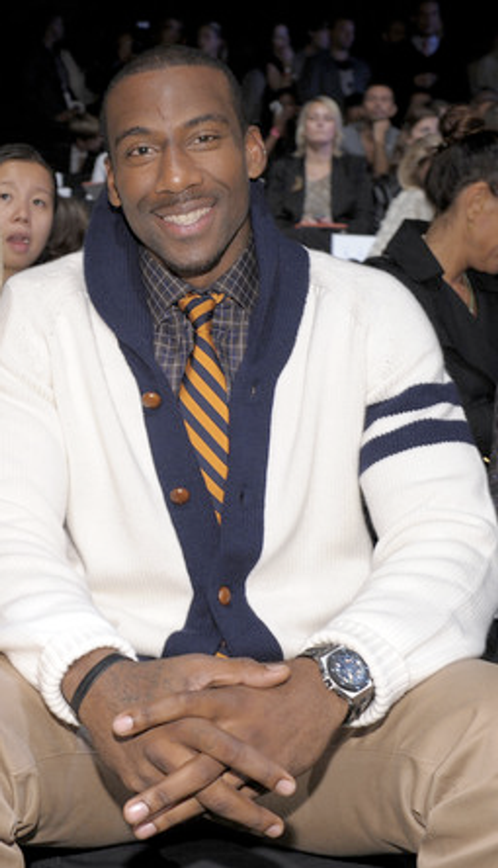 Marc Jacobs, Frank Tell & Amar'e Stoudemire in Today's Style Scraps