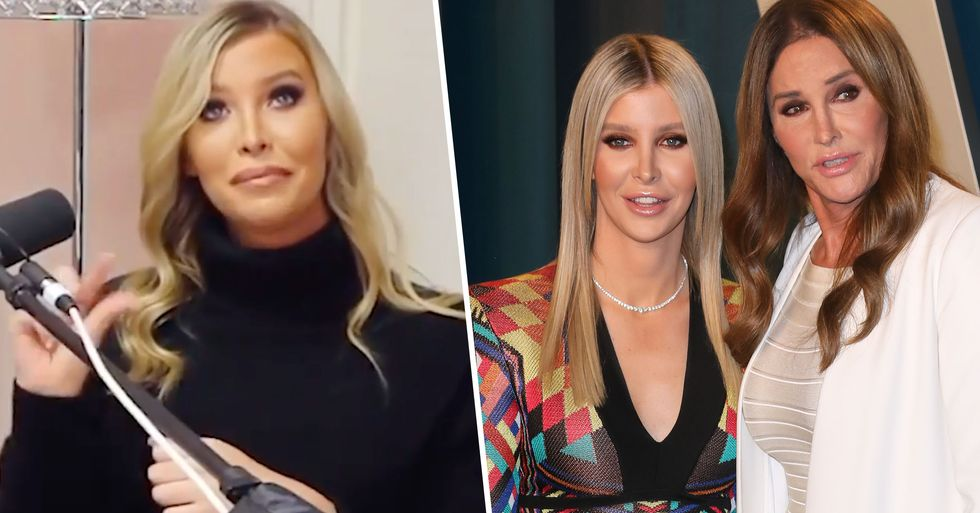 Sophia Hutchins Finally Clears up the Nature of Her Relationship With Caitlyn Jenner