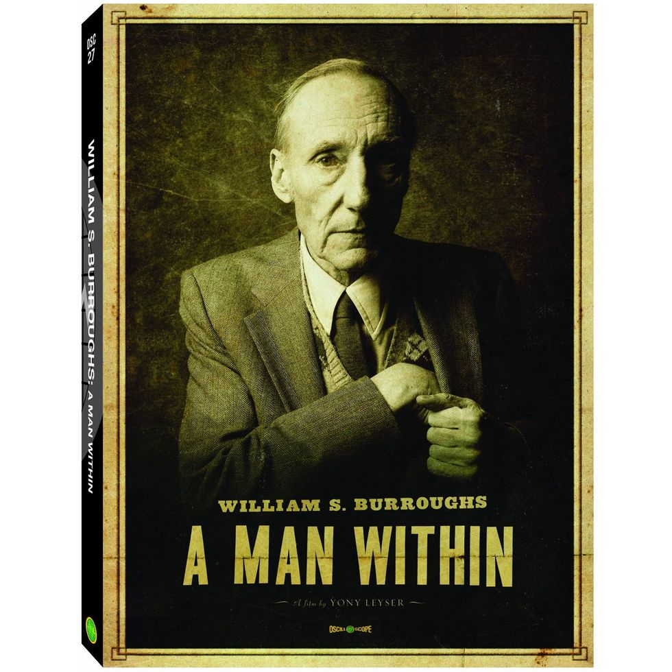 Fascinating William Burroughs Documentary A Man Within On DVD