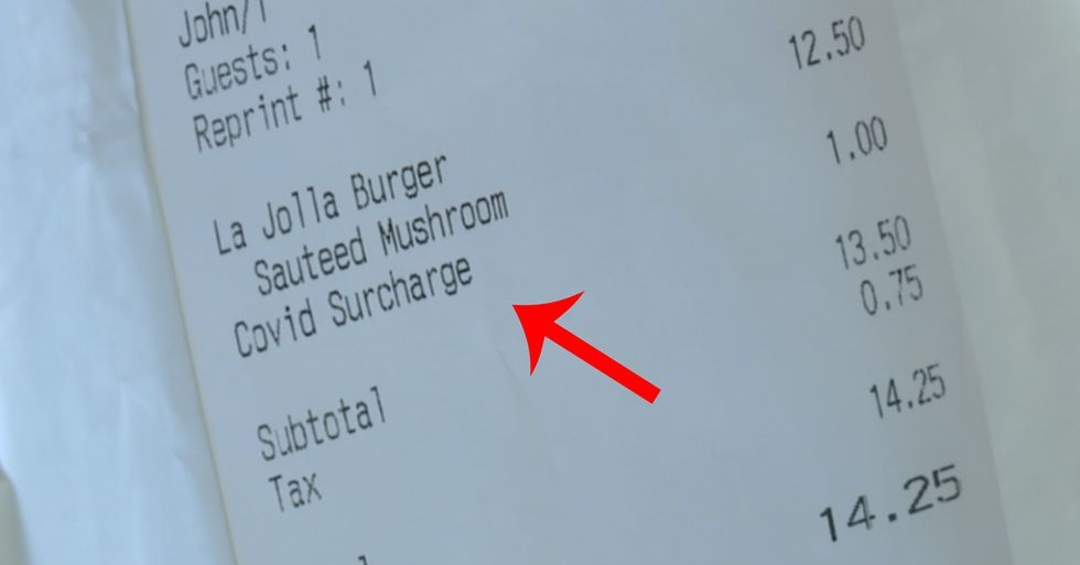 Some Restaurants Are Charging Customers a COVID Tax in Wake of Pandemic